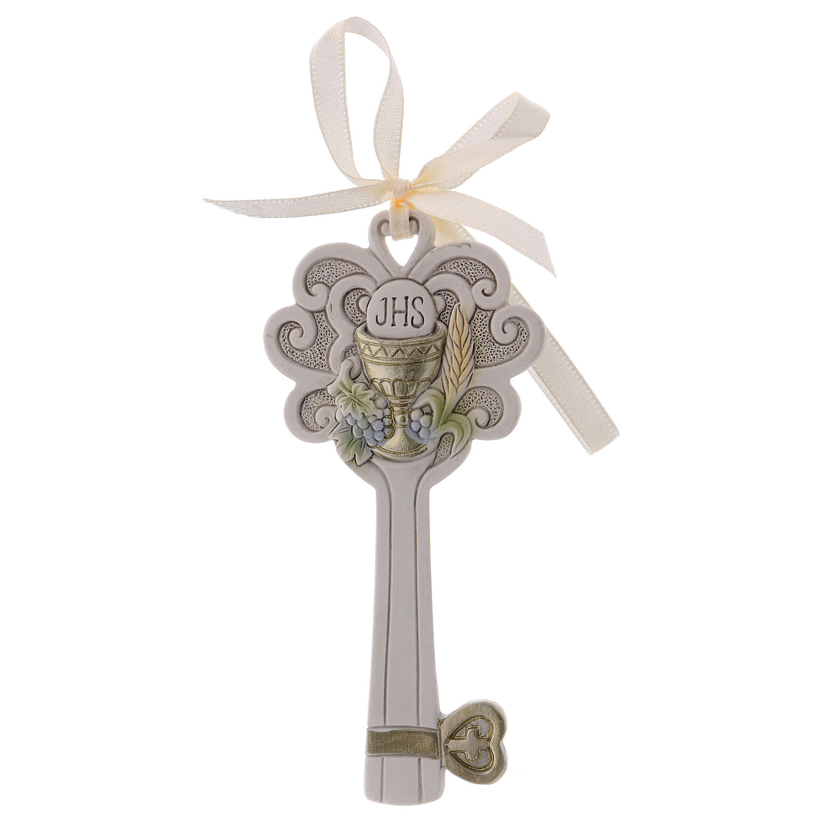 Key-shaped party favour in resin 11 cm 3