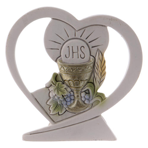 Lembrancinha coração resina 6 cm 1