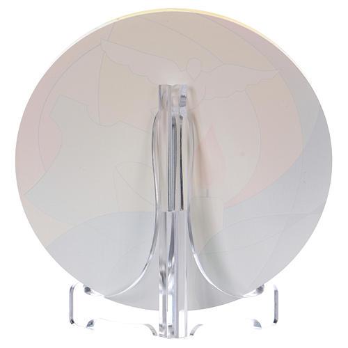 Souvenir baptême plexiglas diamètre 10 cm Centre Ave 2