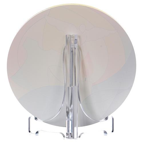 Souvenir communion plexiglas diamètre 10 cm Centre Ave 2