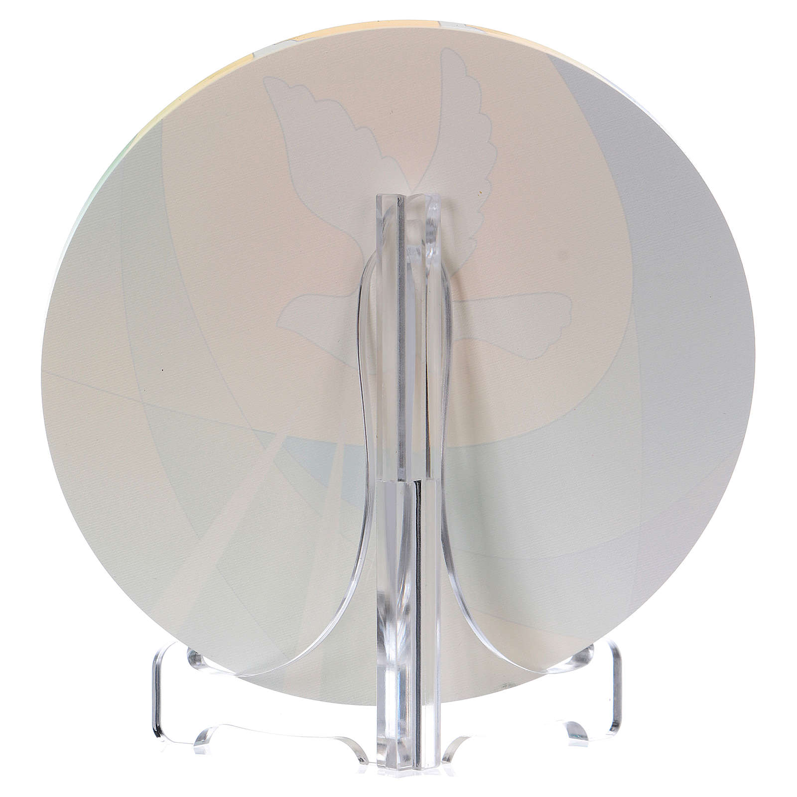 Bomboniera plexi cresima diametro 10 cm Centro Ave 3