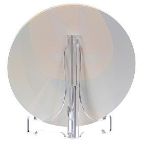 Bomboniera plexi cresima diametro 10 cm Centro Ave s2