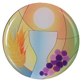 Cadeaux et souvenirs pour les occasions spéciales: Aimant communion diamètre 7 cm Centre Ave