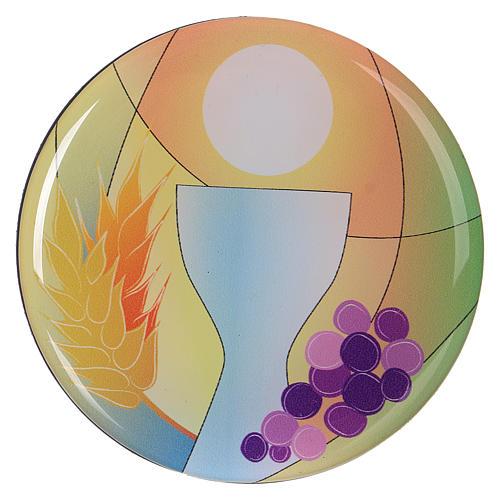 Aimant communion diamètre 7 cm Centre Ave 1