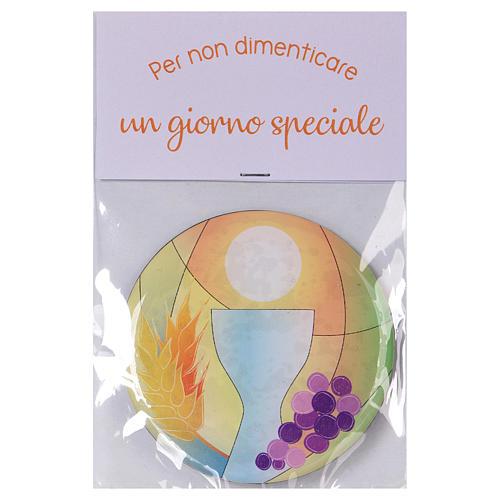 Magnete comunione diametro 7 cm Centro Ave 2