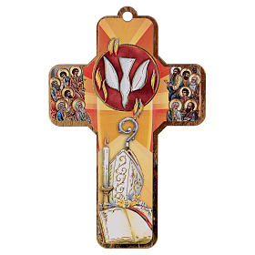 Ricordo dei sacramenti cresima ITALIANO 22x12 cm s2