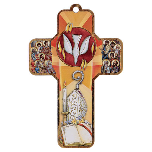 Ricordo dei sacramenti cresima INGLESE 22x12 cm 2