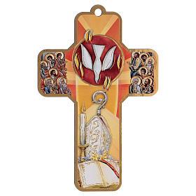 Ricordo dei sacramenti cresima SPAGNOLO 22x12 cm s2