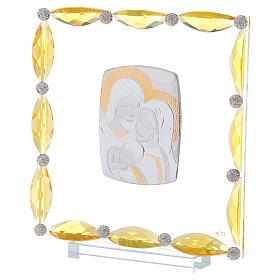 Cuadrito cristales transparentes bilaminado Sagrada Familia 20x15 s2