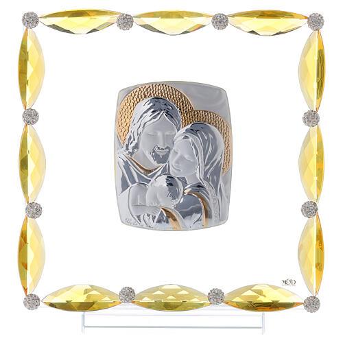 Cuadrito cristales transparentes bilaminado Sagrada Familia 20x15 1