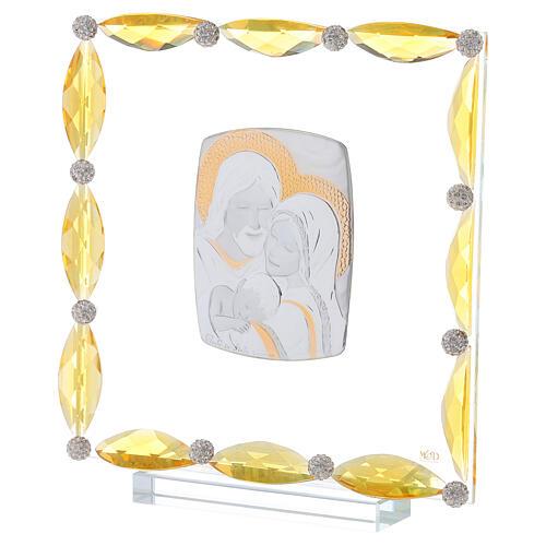 Cuadrito cristales transparentes bilaminado Sagrada Familia 20x15 2