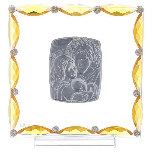 Cuadrito cristales transparentes bilaminado Sagrada Familia 20x15 3
