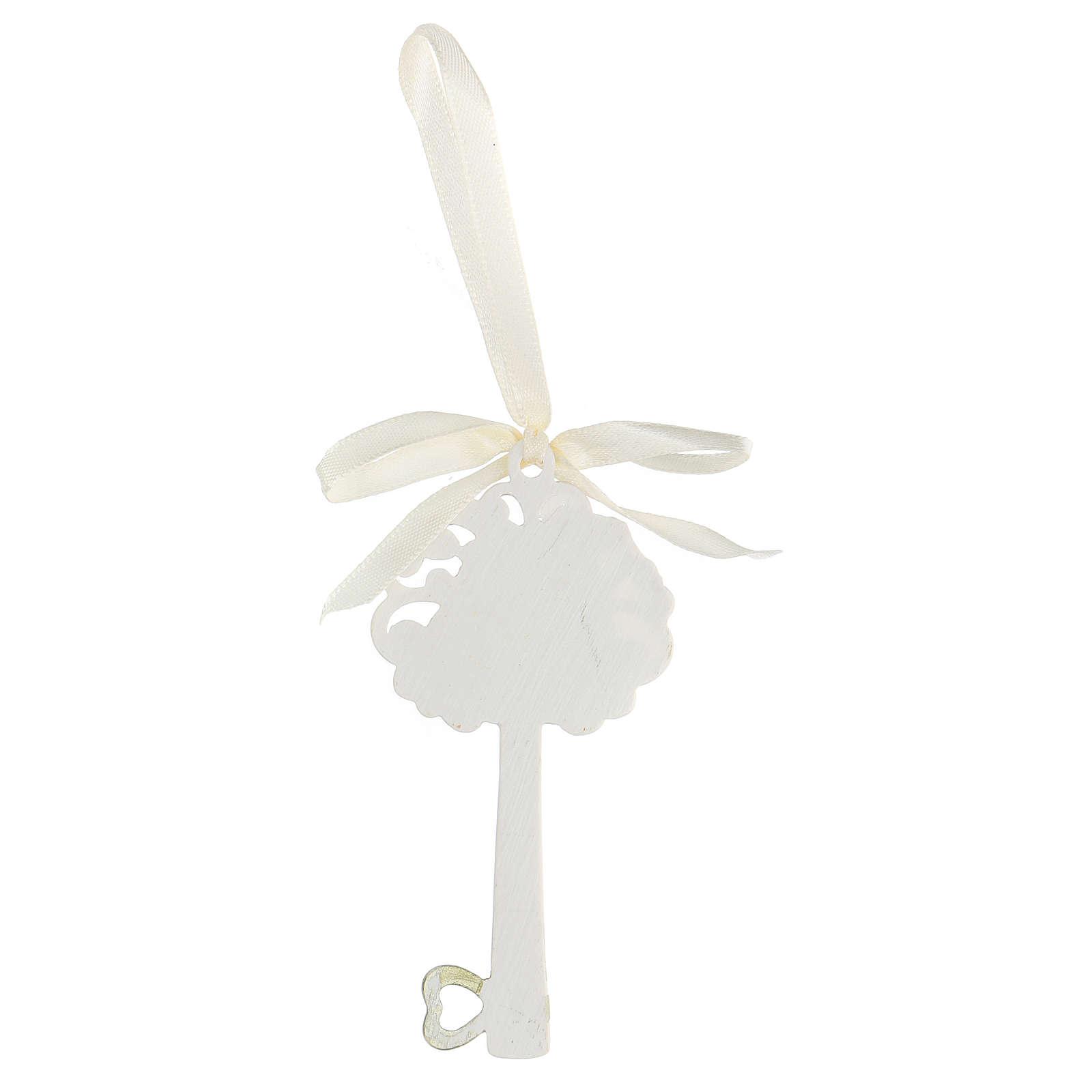 Recuerdo llave Sagrada Famiia resina 10 cm 3