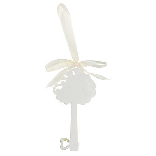 Recuerdo llave Sagrada Famiia resina 10 cm 2