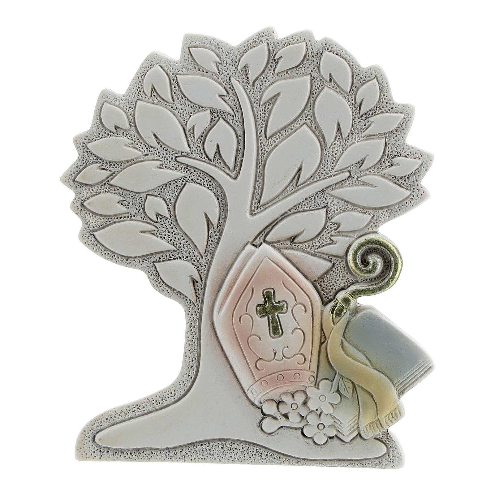 Recuerdo árbol vida Confirmación 9 cm 3