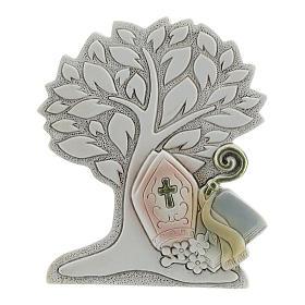 Bonbonnière arbre de la vie Confirmation 9 cm s1