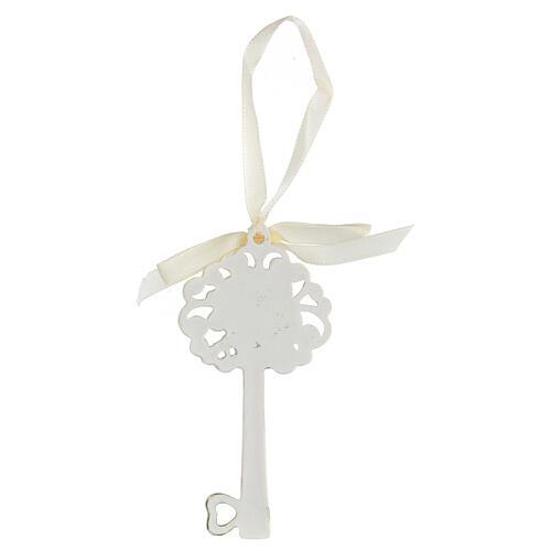 Gastgeschenk in Form eines Schlüssels zur Erstkommunion, 10 cm 2