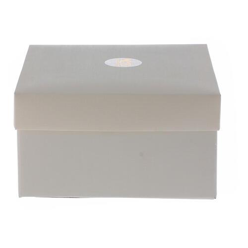 Recuerdo 50 aniversario lámina plata 17x17 cm 4
