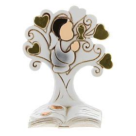 Recuerdo Comunión niño y árbol de la Vida s1