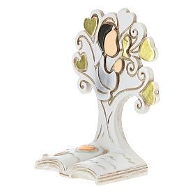 Recuerdo Comunión niño y árbol de la Vida s2