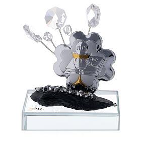 Bomboniera Comunione placca argento laminato  s1