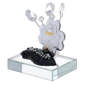 Bomboniera Comunione placca argento laminato  s2