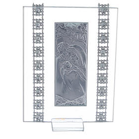 Vertical picture Holy Family with rhinestones s3