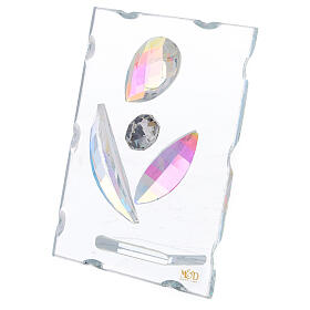 Cuadrito maternidad estilizada vidrio s2