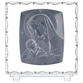 Cadre maternité verre et cristal s3