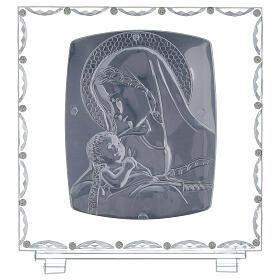 Quadro maternità vetro e cristallo s3