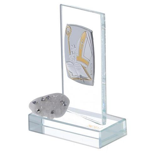 Recuerdo símbolos Confirmación de vidrio 2