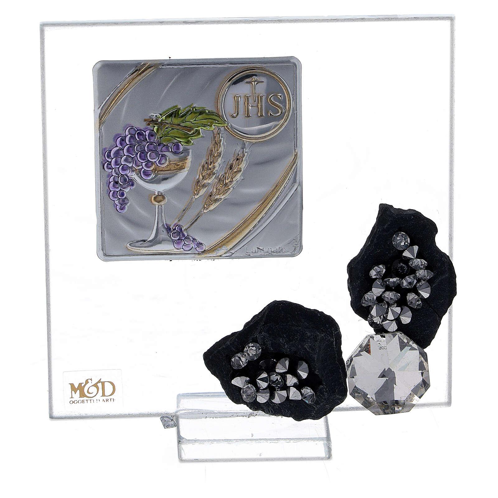 Cadre souvenir calice Communion 3