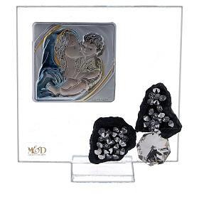 Cuadrito recuerdo nacimiento vidrio s1