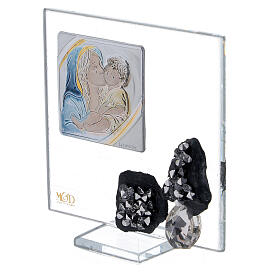 Cuadrito recuerdo nacimiento vidrio s2
