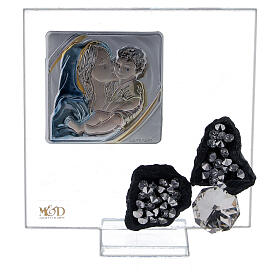 Picture favor for childbirth glass s1
