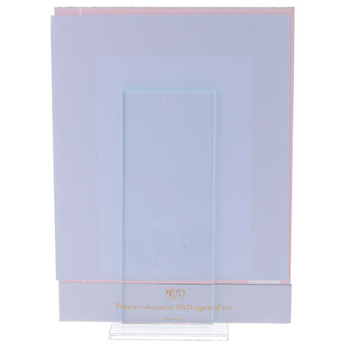 Picture frame Confirmation glass red frame 3