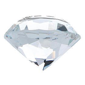 Bomboniera diamante nozze d'argento s3