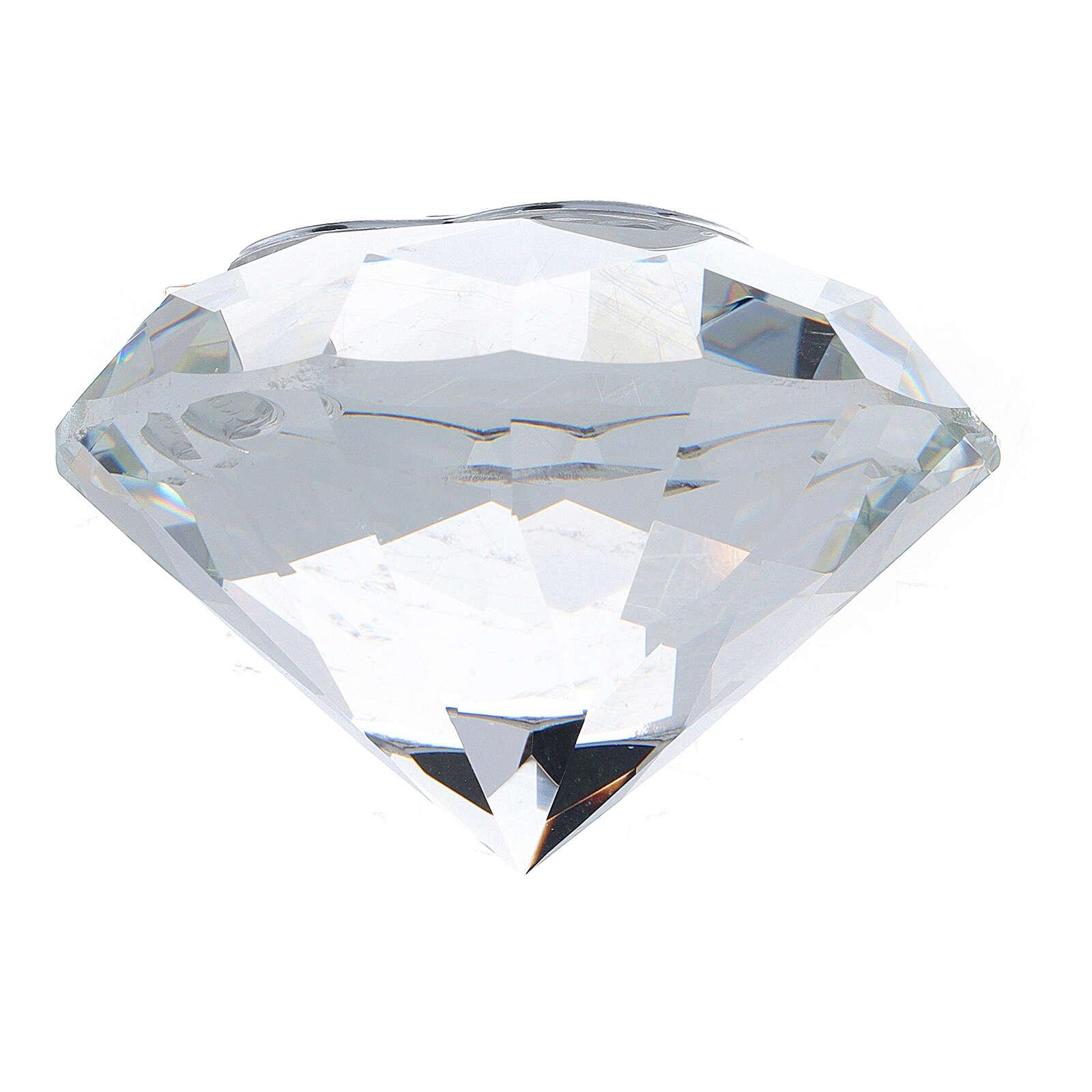 Recuerdo bodas de oro diamante 3