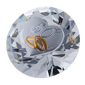Bomboniera nozze d'oro diamante s1