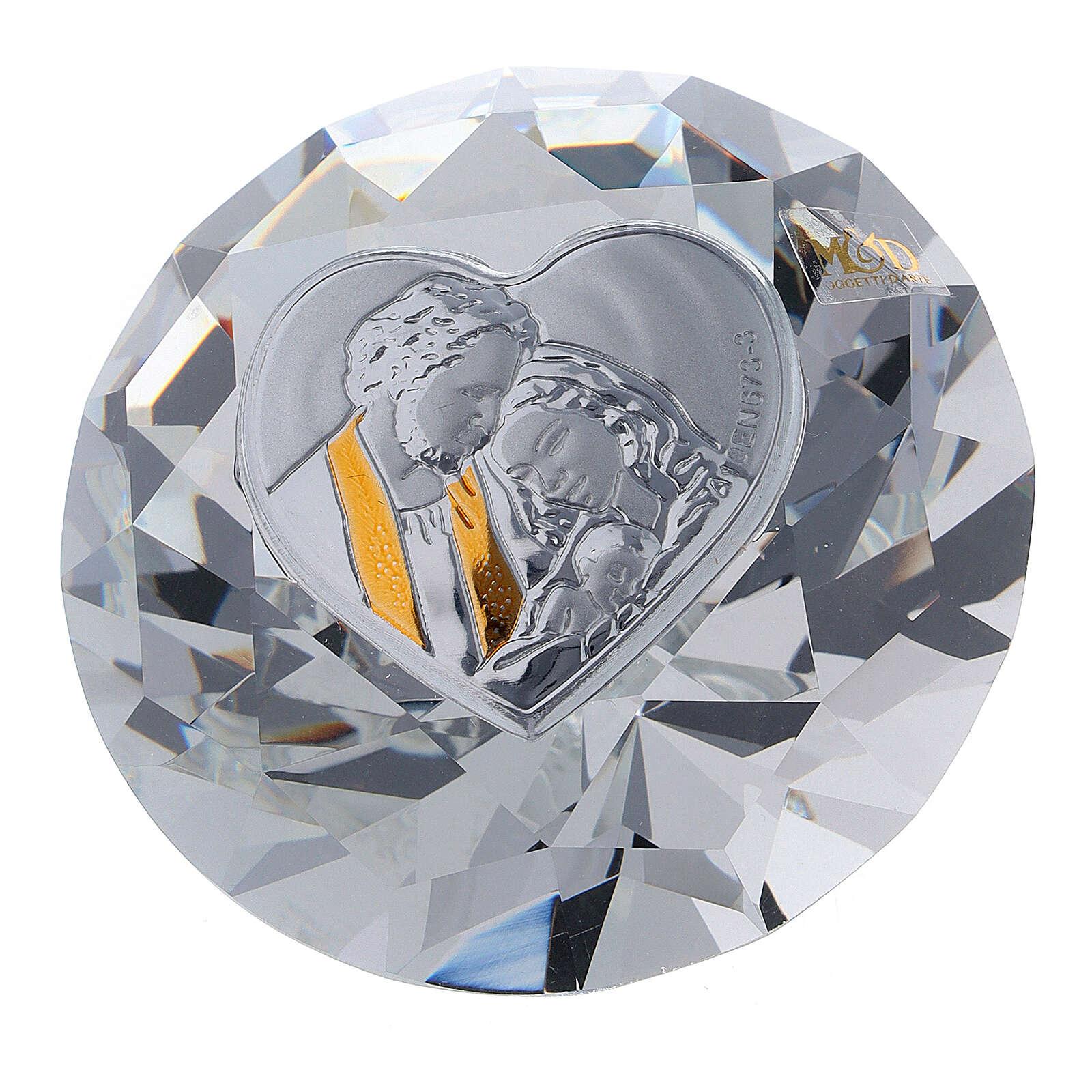 Diamond shaped favor Holy Family 3