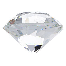 Diamond shaped favor Holy Family s3