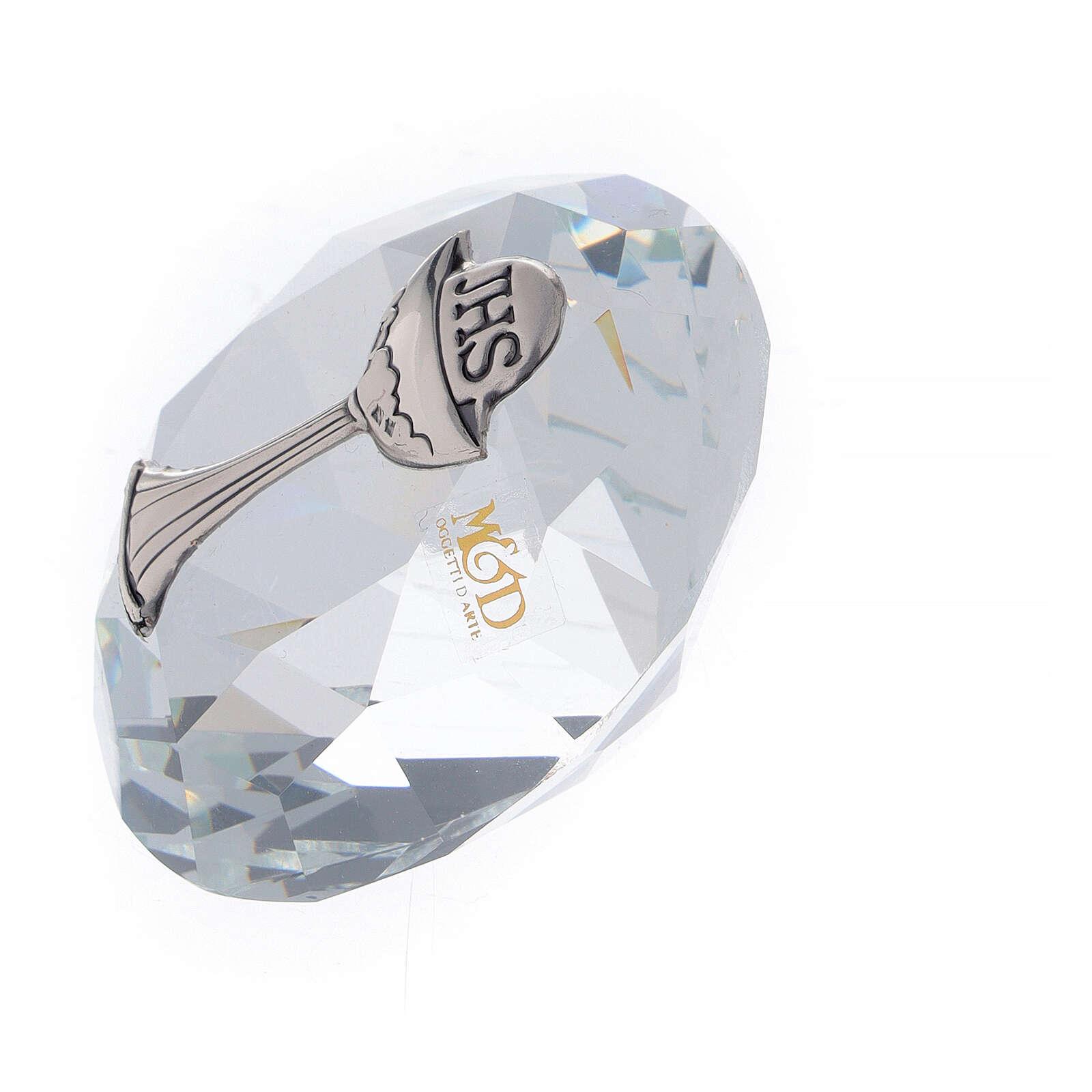 Bomboniera Comunione a forma di diamante  3