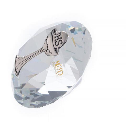 Bomboniera Comunione a forma di diamante  2