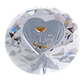 Diamante in vetro placca calice Comunione s1