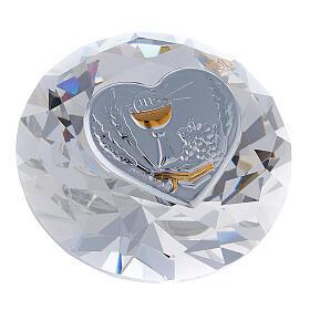 Diamante in vetro placca calice Comunione s3
