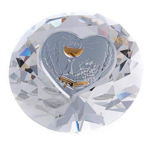 Diamante in vetro placca calice Comunione 1