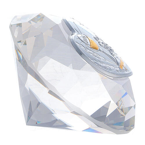 Diamante in vetro placca calice Comunione 2