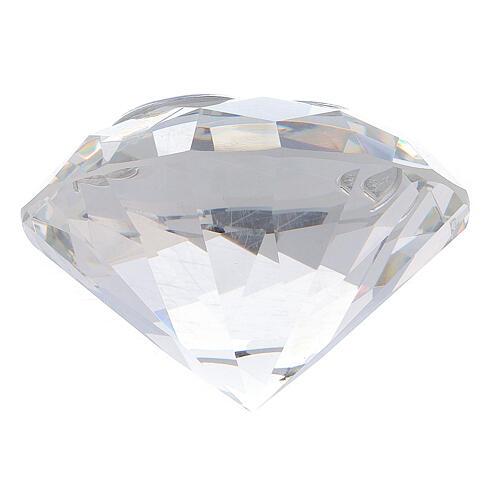 Diamante in vetro placca calice Comunione 5