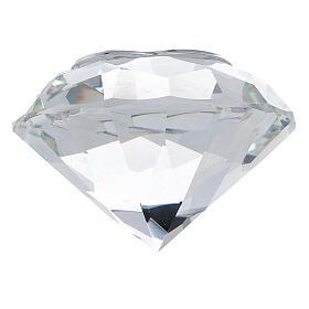 Diamante vetro bomboniera matrimonio s3