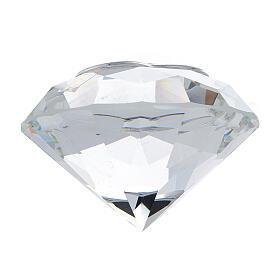 Diamant en verre souvenir maternité s3